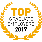 Top Graduate Employers 2017 Logo