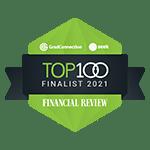 Financial Review Top 100 Finalists 2021 Logo