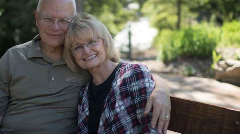 Roberta Smith and her husband